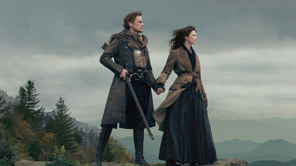 Claire and Jamie from Outlander season 4