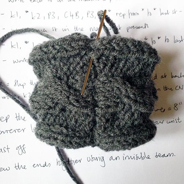 Outlander cuffs stitching up tutorial
