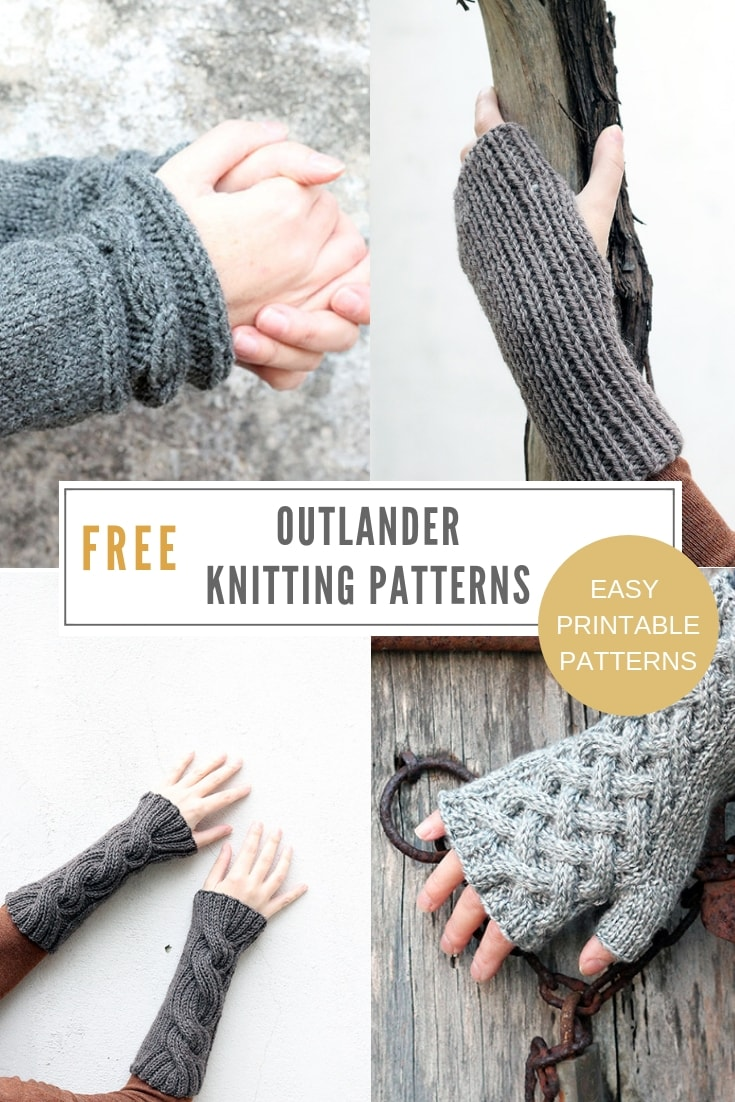 promo code 0275f e5d3d Outlander knitting patterns free