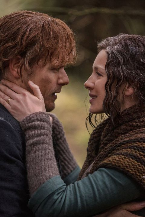 Jaimie and Claire Outlander