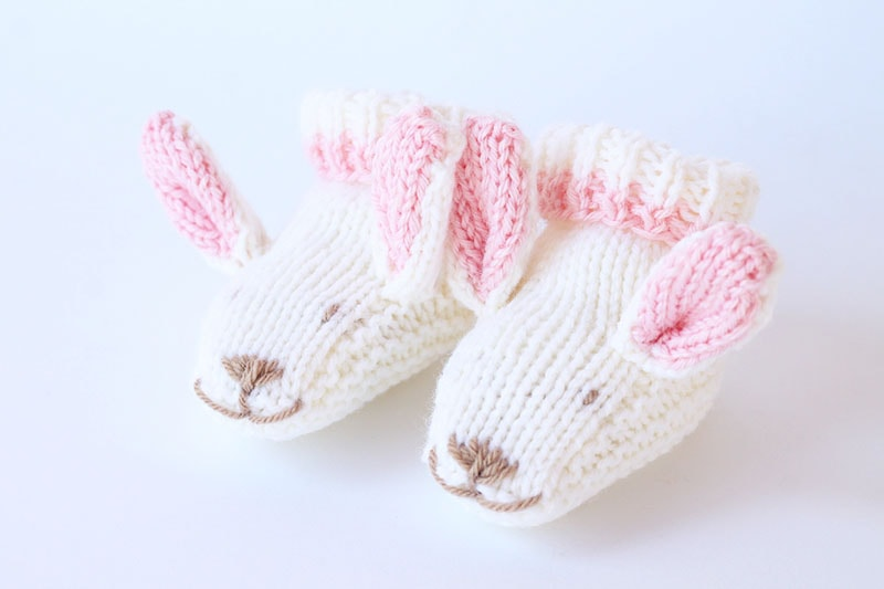 bunny slippers pattern free