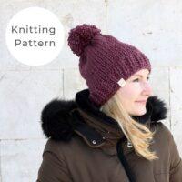 The Sofia Hat Knitting Pattern PDF Download