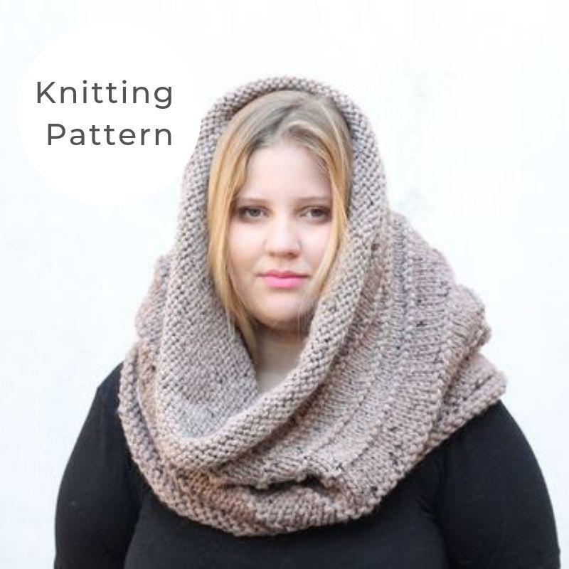 Snood knitting pattern