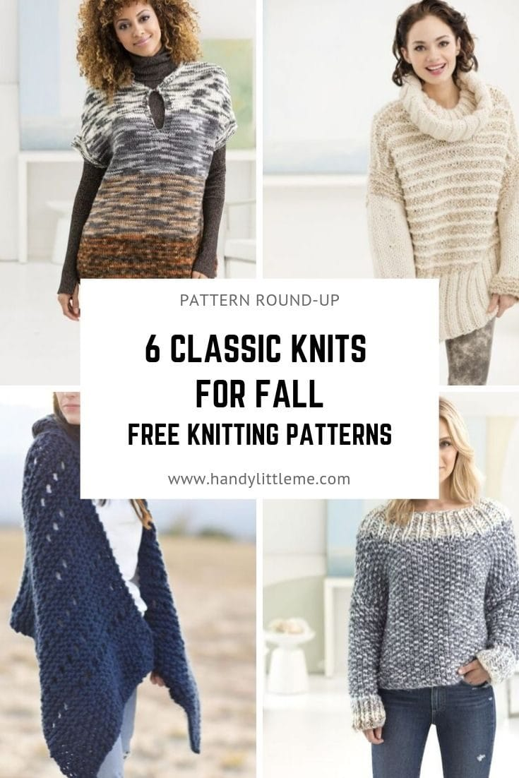 6 Classic Knits For your Fall Closet