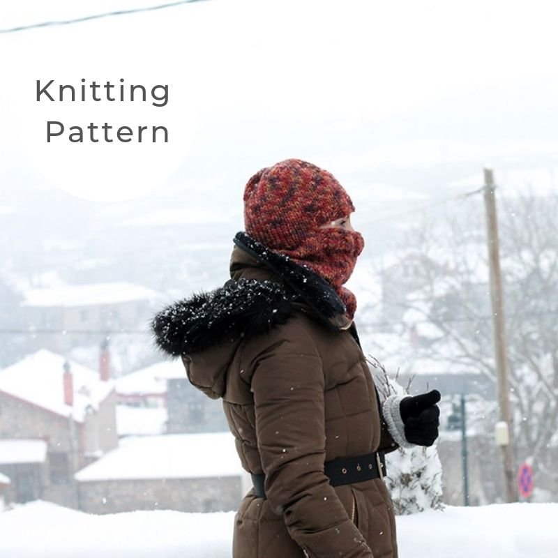 Balaclava knitting pattern