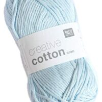 Rico Design Creative Cotton Aran - Light Blue (032)