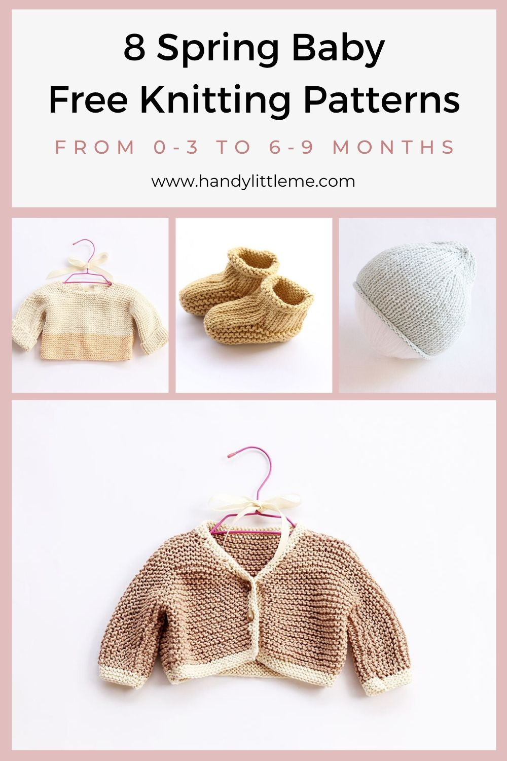 8 Spring baby knitting patterns