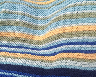 Simple Temperature Blanket pattern by Ashley Hein