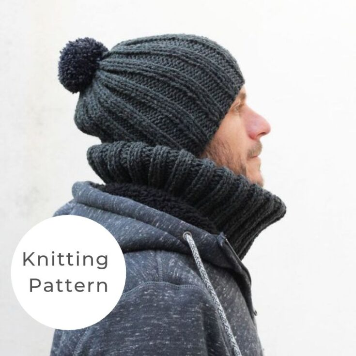 Free Men's Hat Knitting Pattern