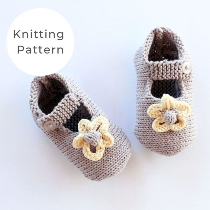 Baby Girl Shoes With Flowers