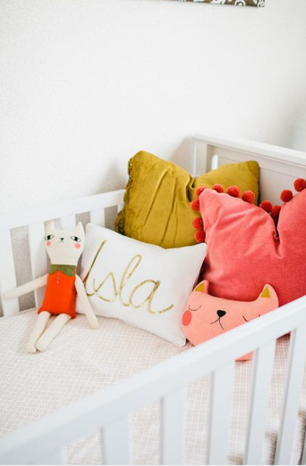Baby Nursery Ideas With A Pop Of Colour!