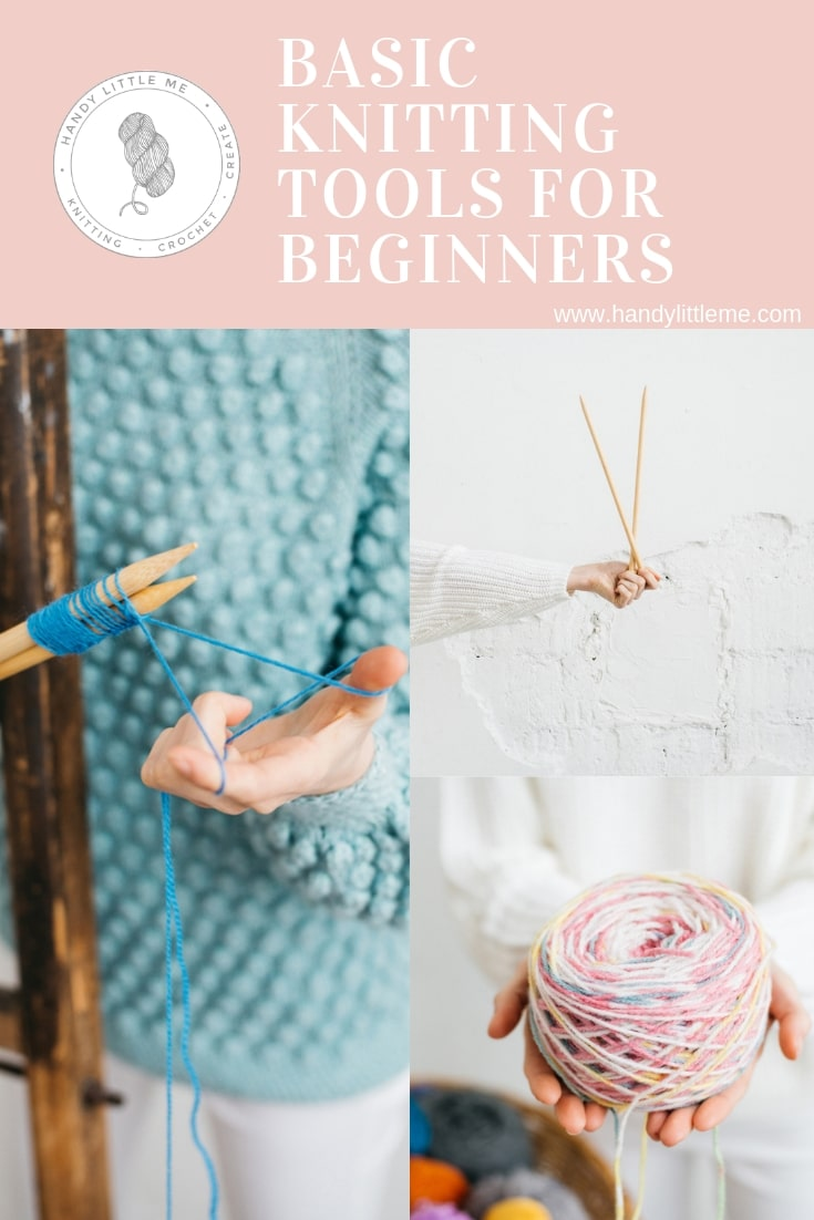 Basic knitting tools for beginners