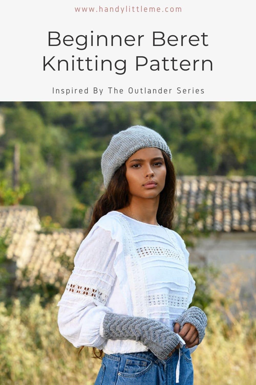 Beginner Beret knitting pattern
