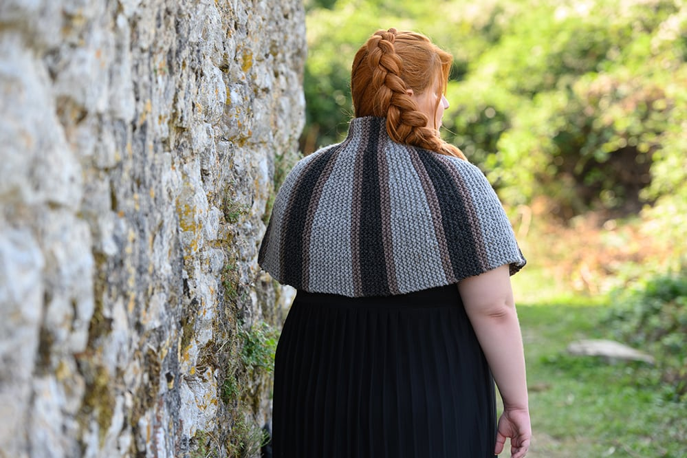 Brianna-capelet-outlander-with-short-row-shaping