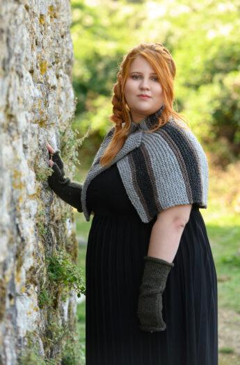 Brianna's Capelet Outlander Knitting Pattern