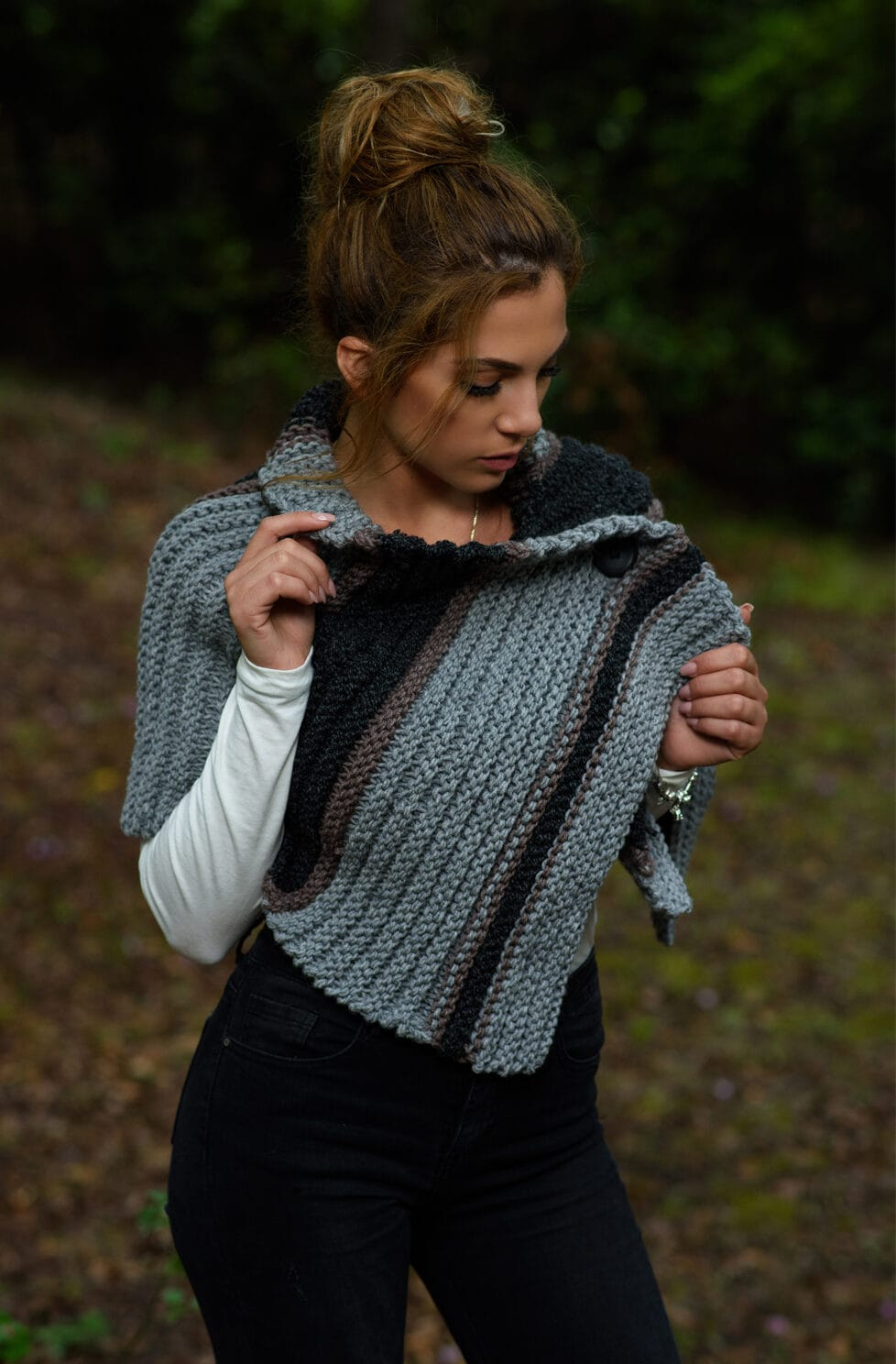 Outlander Capelet Pattern | Brianna Reunion Capelet