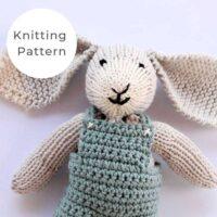 Bunny Soft Toy Knitting Pattern PDF