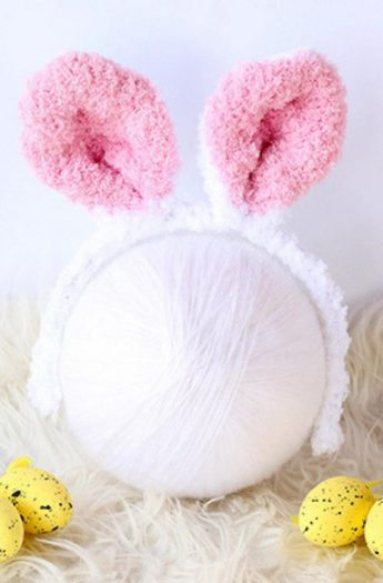 Bunny Ears Headband {With Knitted Ears}