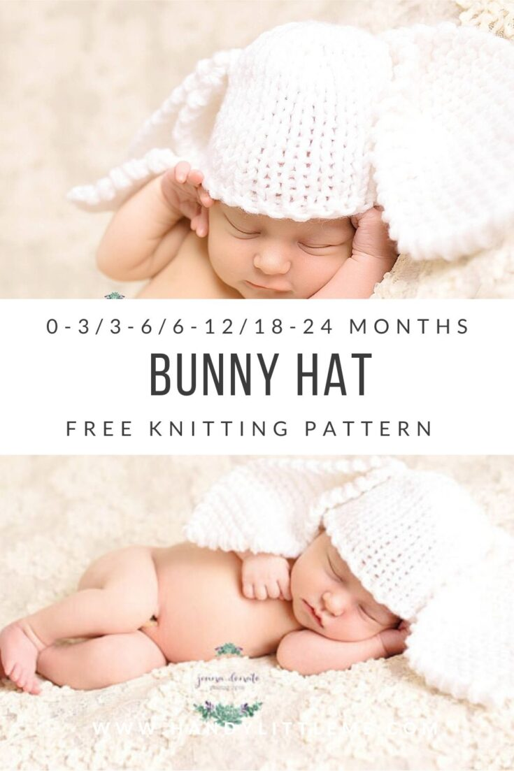 Bunny Hat {Easy + Quick Pattern}
