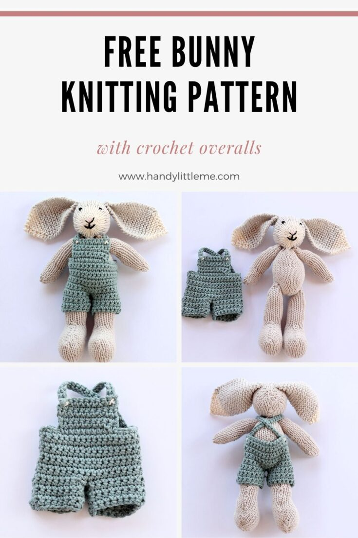 Bunny Pattern {With Crochet Overalls}