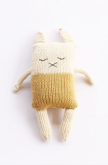 Bunny Softie Pattern {Easy To Knit}