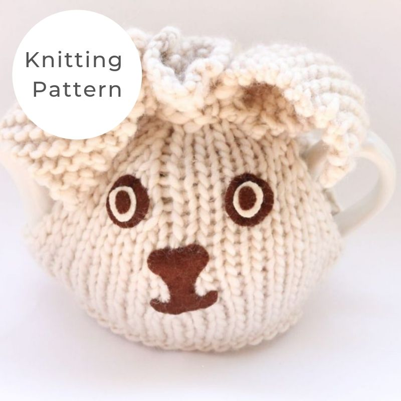 Bunny tea cozy pattern