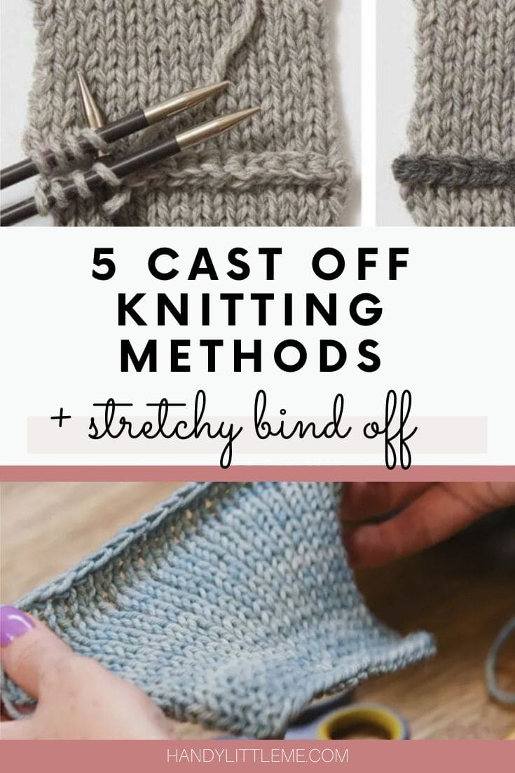 Cast off knitting methods