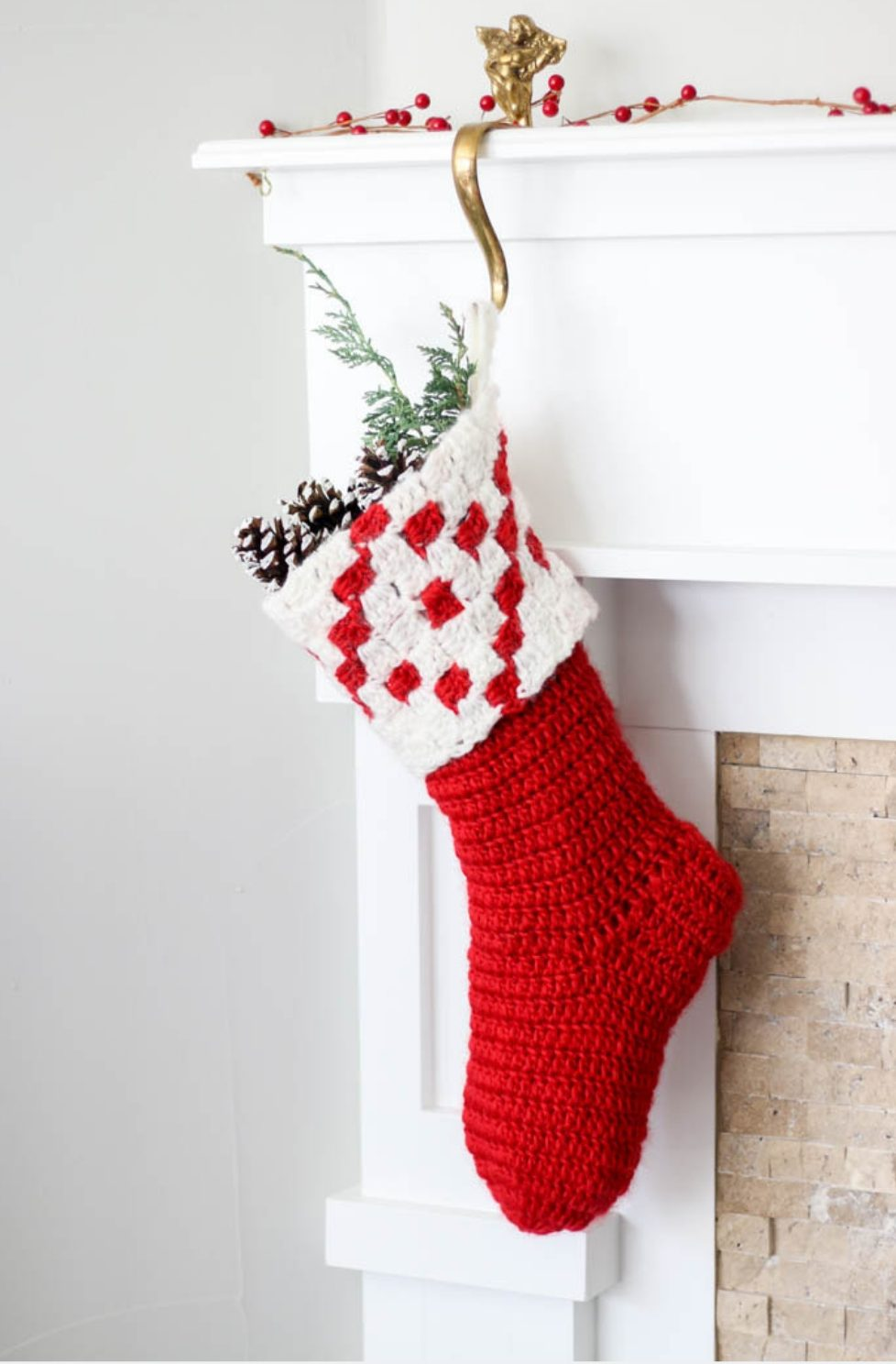 Christmas Stockings - Free Crochet Patterns