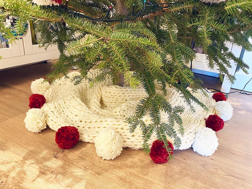 Weihnachtsbaumrockmuster
