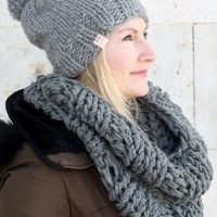 Infinity Scarf And Hat Pattern   The Hera