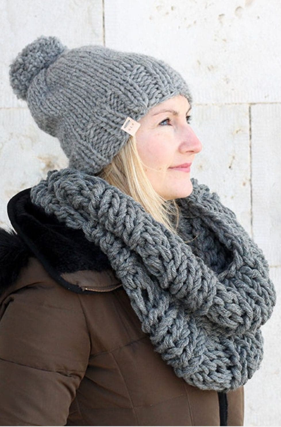 Infinity Scarf And Hat Pattern | The Hera