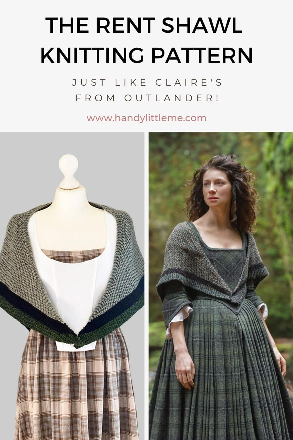 Claires Rent Shawl knitting pattern