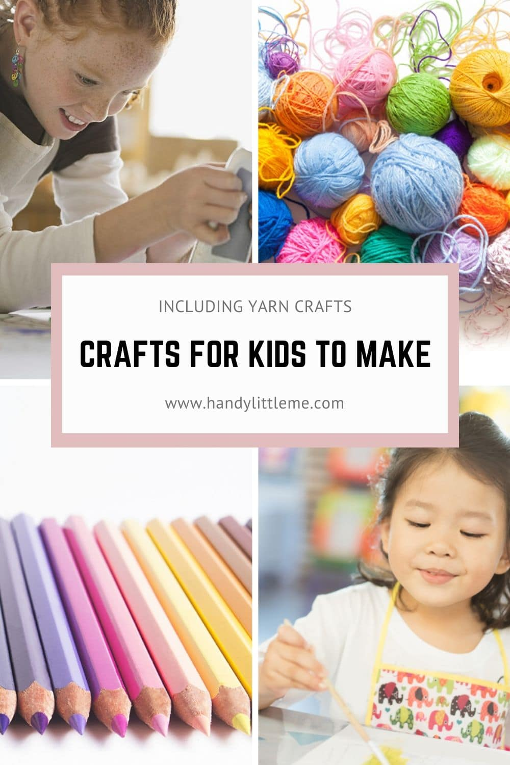 Crafts for kids to make that are easy and fun!