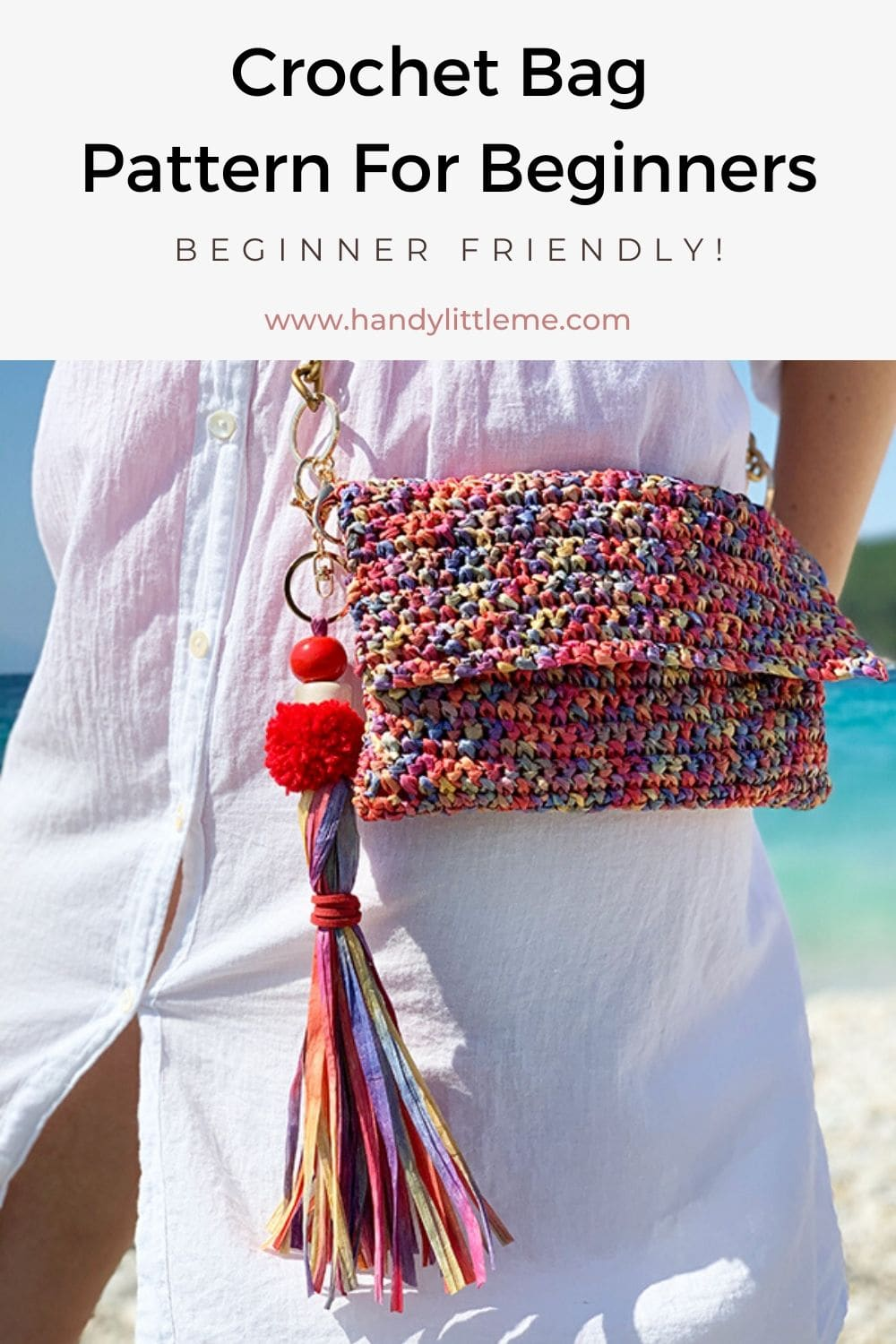 Crochet bag pattern for beginners