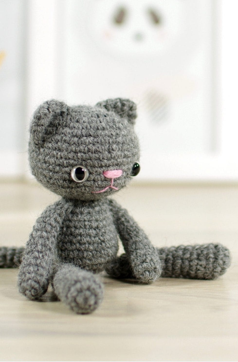 Crochet cat patterns