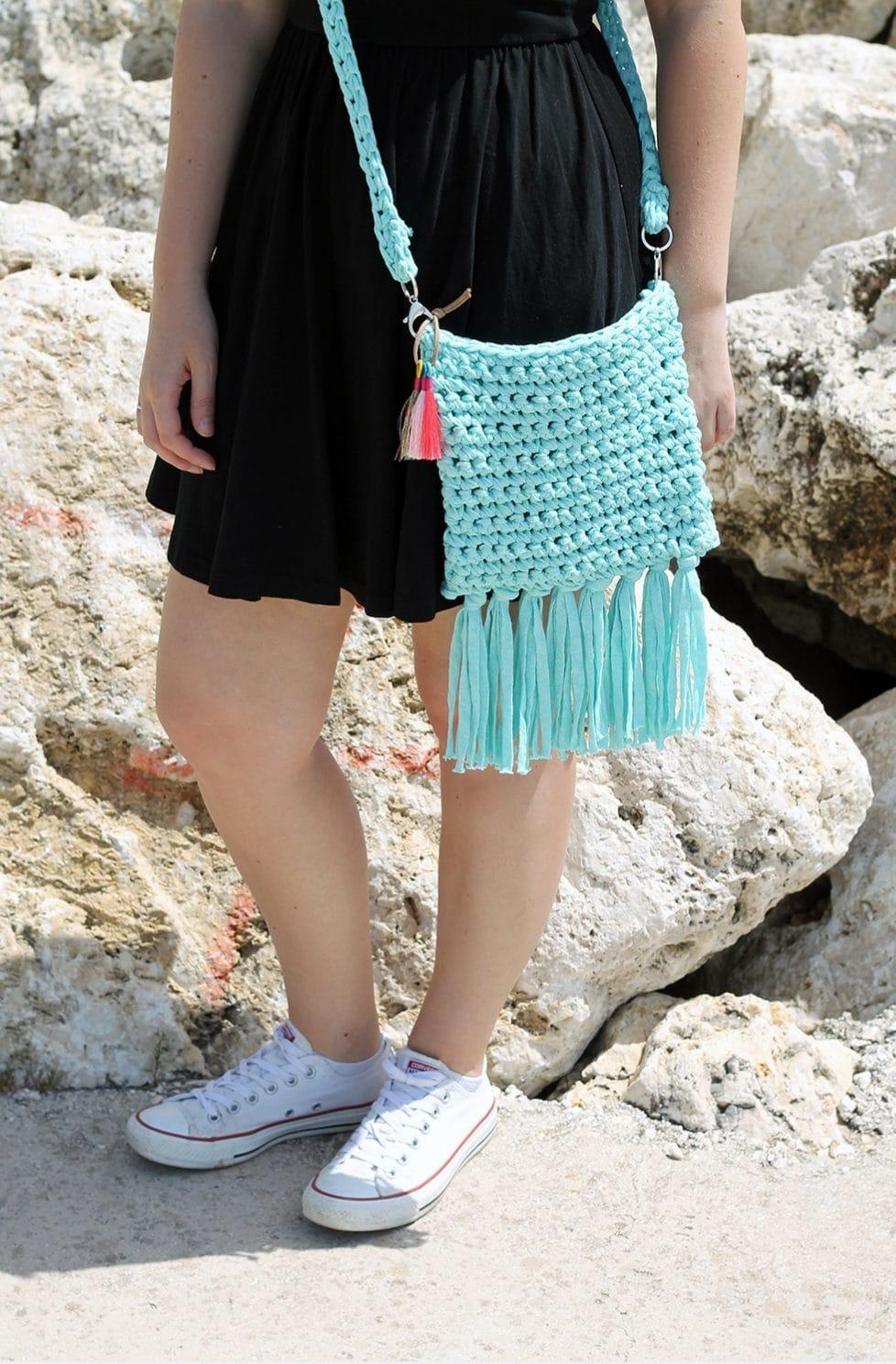 Crochet Boho Bag - Free Pattern
