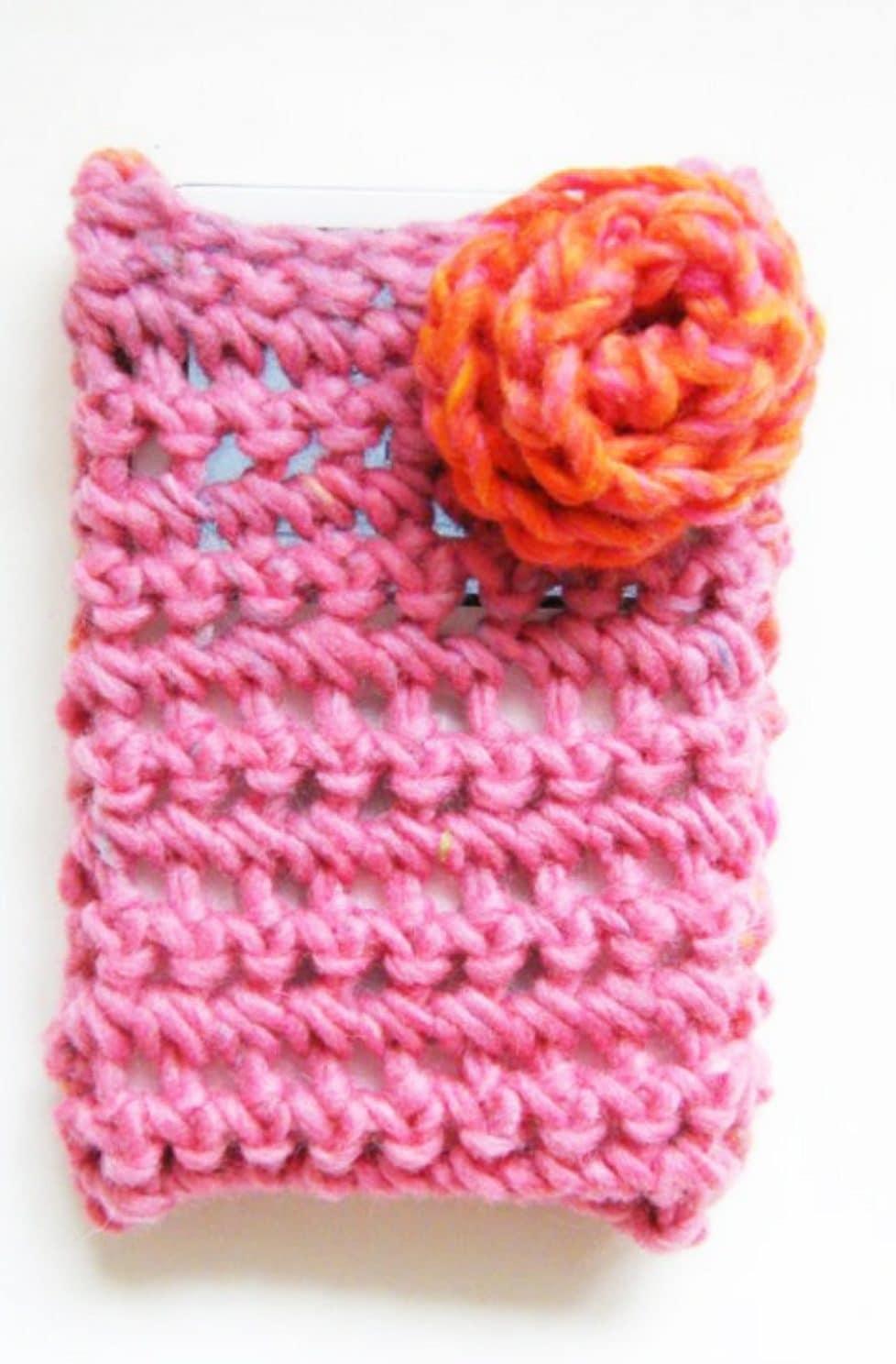 Crochet gadget cosy