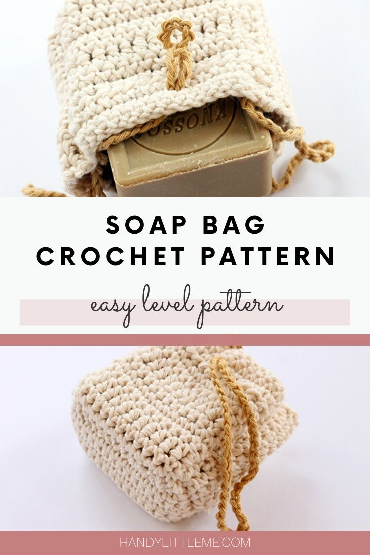 Crochet soap bag pattern