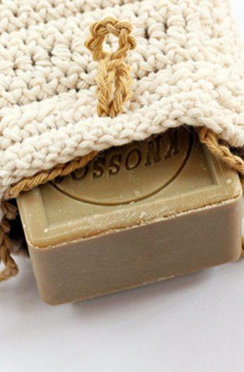 Crochet Soap Bag Pattern {Easy + Quick!}