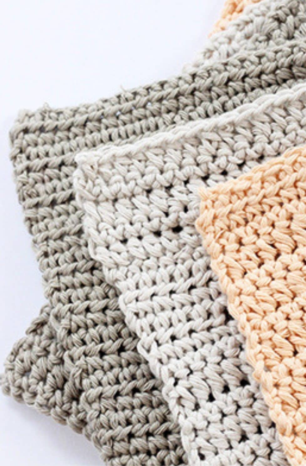 Crochet washcloths