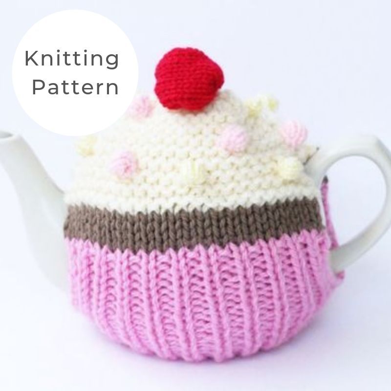 Cupcake tea cosy pattern