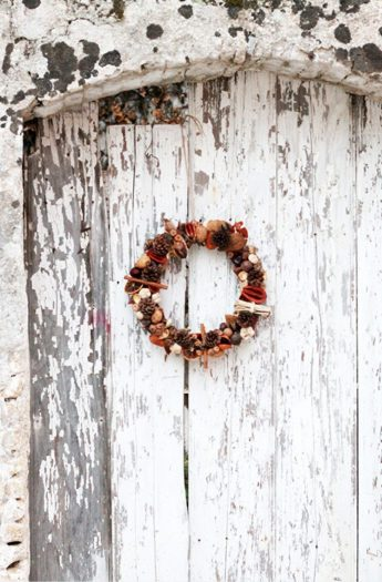 Door Wreath DIY {Perfect For Fall!}