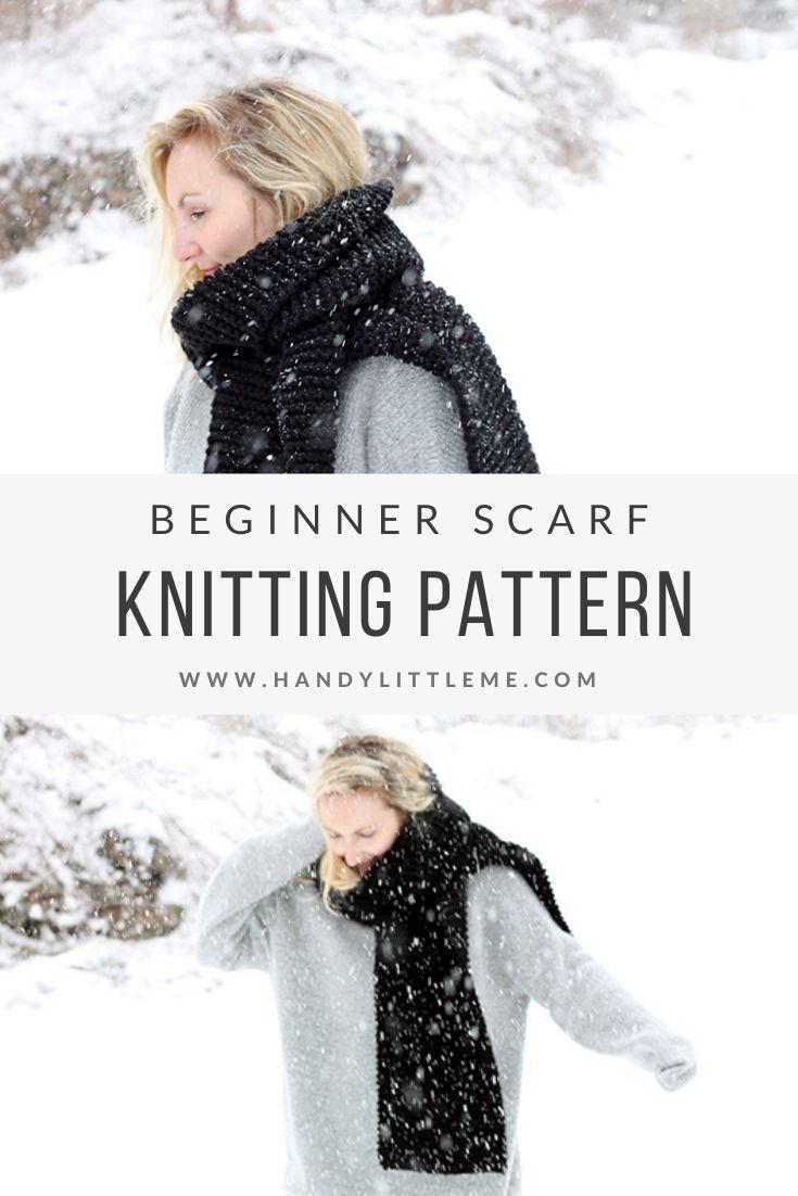 Easy knit scarf pattern