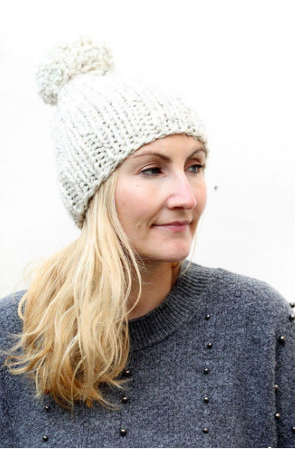 Easy womens beanie pattern