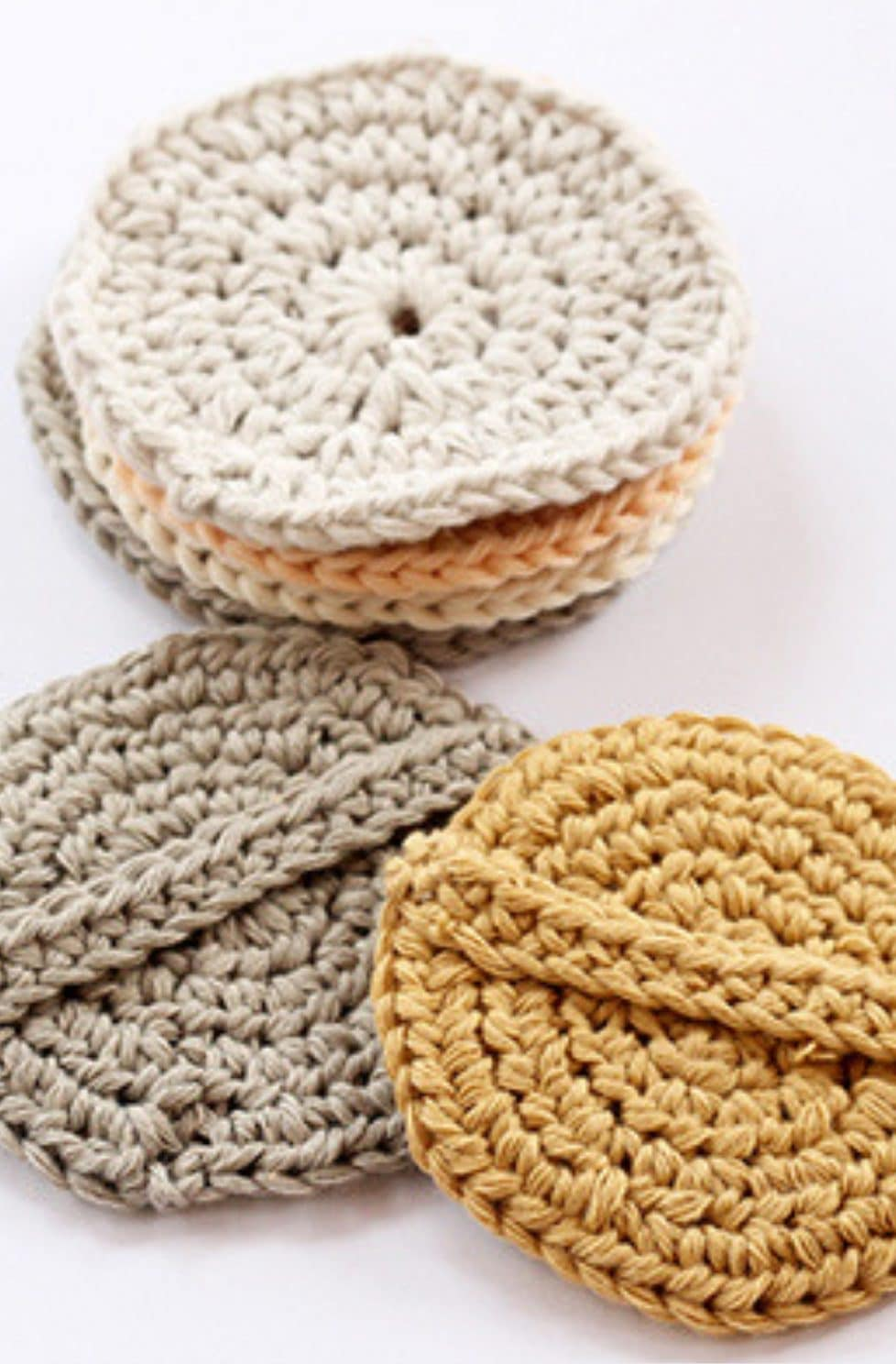 Crochet Face Scrubbies Pattern