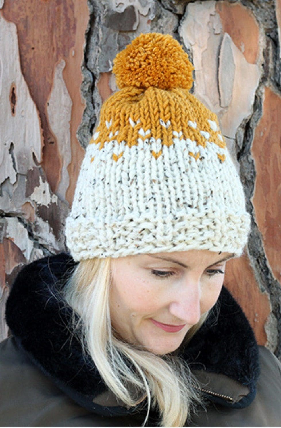 Fair isle hat pattern