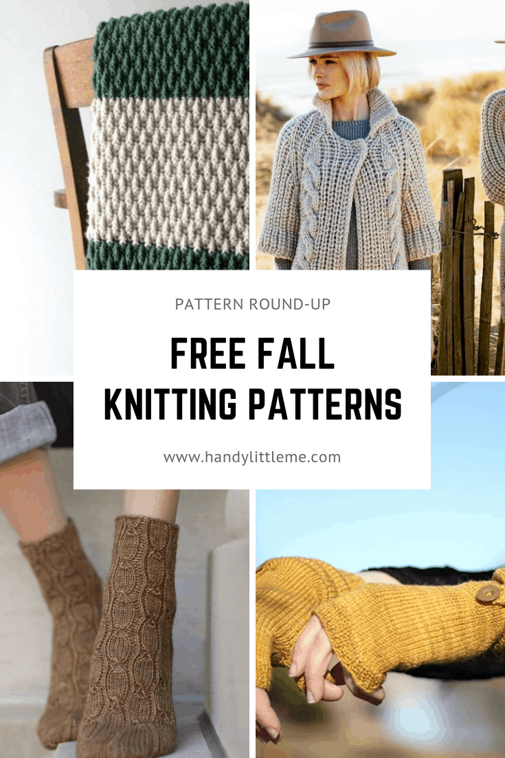 Fall knitting patterns