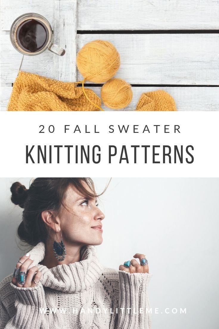 Fall sweater knitting patterns