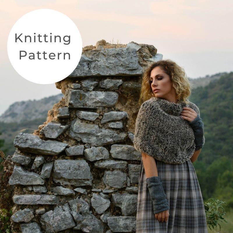 Faux fur scarf shop pattern