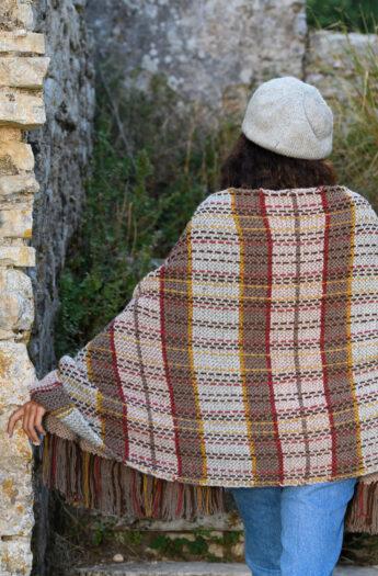 Fraser Tartan Shawl Knitting Pattern